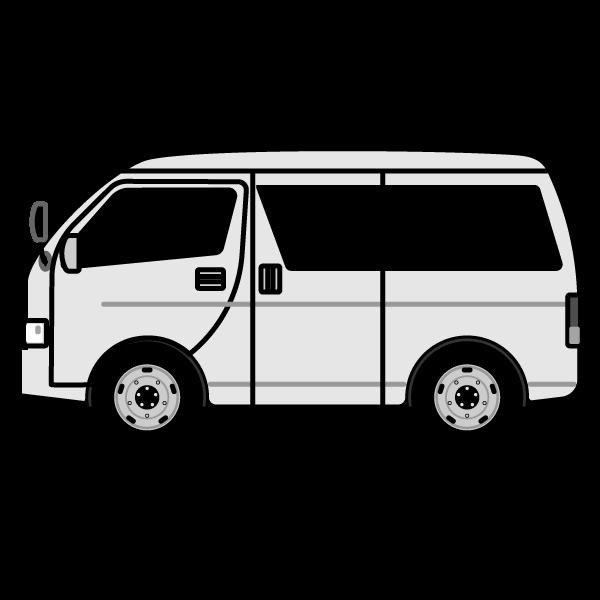 かわいいワゴン車の無料イラスト商用フリー オイデ43