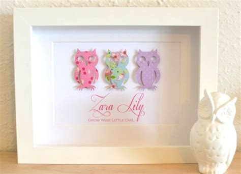 Gorgeous Unique Personalised Baby Nursery Gifts Custom Art