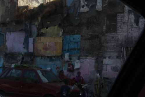 once this was a slum... now after demolition life has gone numb by firoze shakir photographerno1