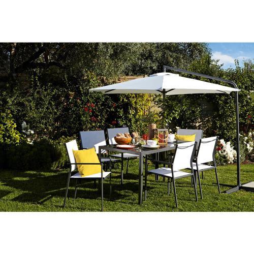 Wilkinson - 4 Wilko Textiline Garden Chair + 1 Wilko ...