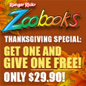 Save $5 on Zoobooks, Zootles & Zoobies
