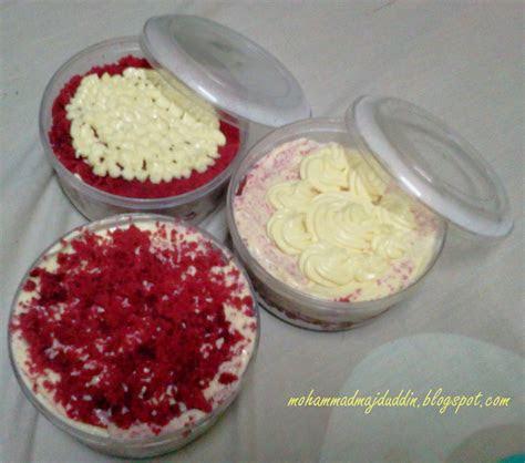 salam dunia resepi kek red velvet  cream cheese