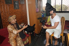 Bass Interviews Me For An Australian News  Network Show by firoze shakir photographerno1