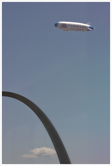 Arch and Zeppelin 2011-08-21