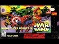 Marvel Super Heroes War Of The Gems JUEGO COMPLETO  (SNES) GUIA