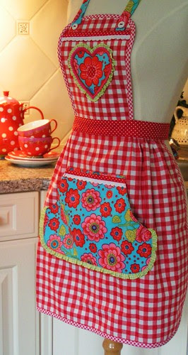 My apron for Sarah