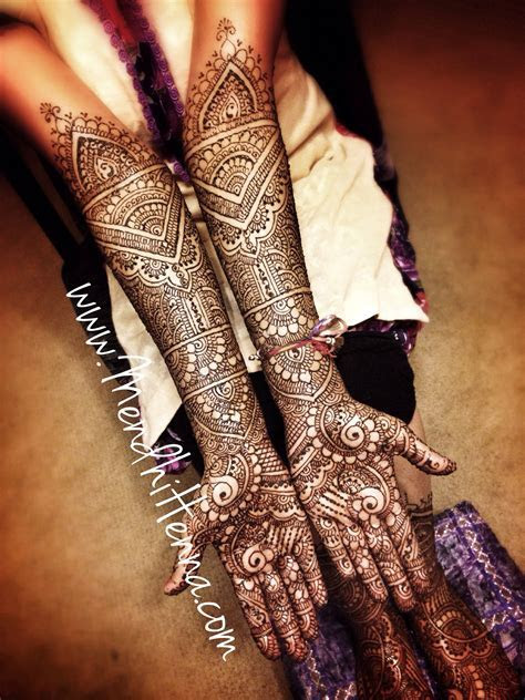 Mendhi Design for an Indian wedding, desi bridal henna, #