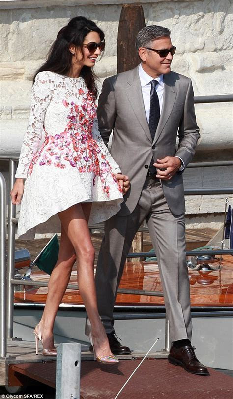 George Clooney weds Amal Alamuddin who is a picture of