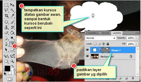 membuat tulisan efek komik  photoshop video
