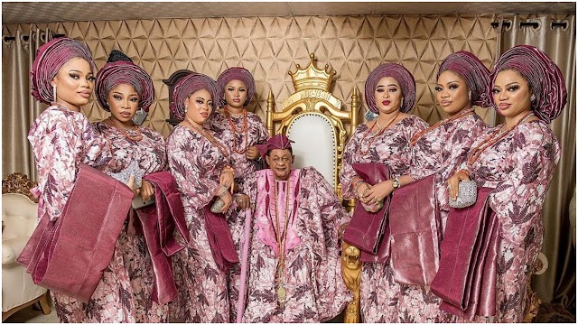 Alaafin of Oyo Brags About Being The Only Yoruba Monarch Blessed With Triplets