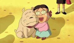 わんこネタちびまる子ちゃん みぎわさんと名犬アマリリス中野さん