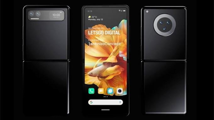 "Xiaomi New Foldable Phone ""Inspired"" by Galaxy Z Flip"