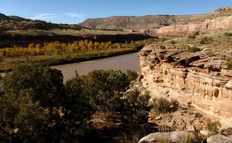 Ruby Canyon, Colorado River, Horsethief Bench, Fruita, Colorado