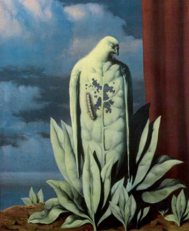 The taste of tears, 1946 Rene Magritte