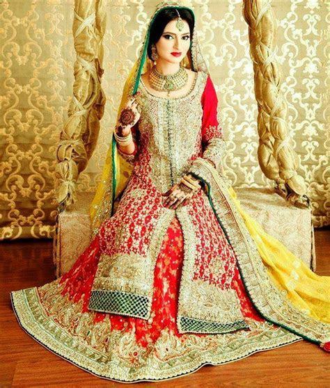 Pakistani Bridal Wedding Dresses Latest Designs Photos