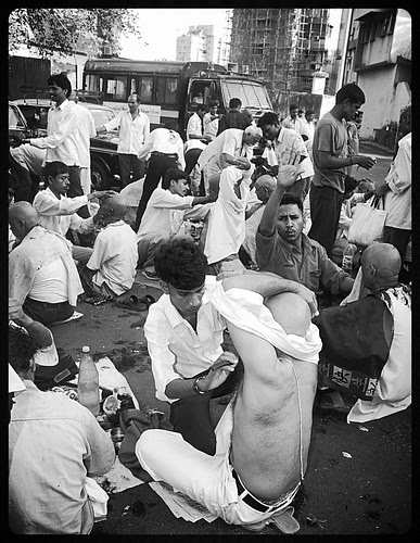 Shaving The Indian Armpit ... by firoze shakir photographerno1