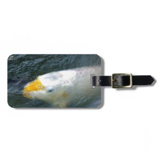 Goldfish In Lake Bag Tags