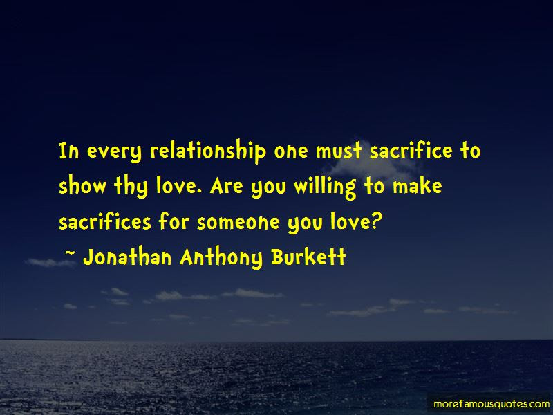 Sacrifice For Relationship Quotes Top 31 Quotes About Sacrifice For