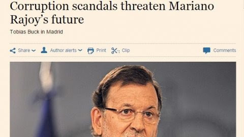 Mariano Rajoy Financial Times