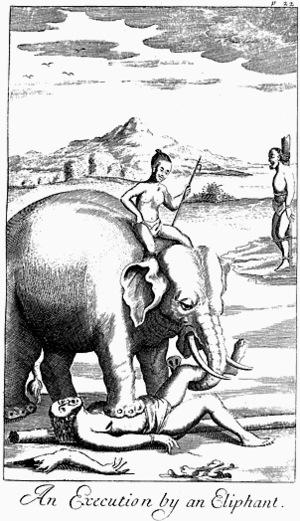 """""""An Execution by an Eliphant"""", from ..."""
