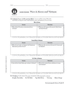 Printables. Korean War Worksheet. Mywcct Thousands of Printable Activities