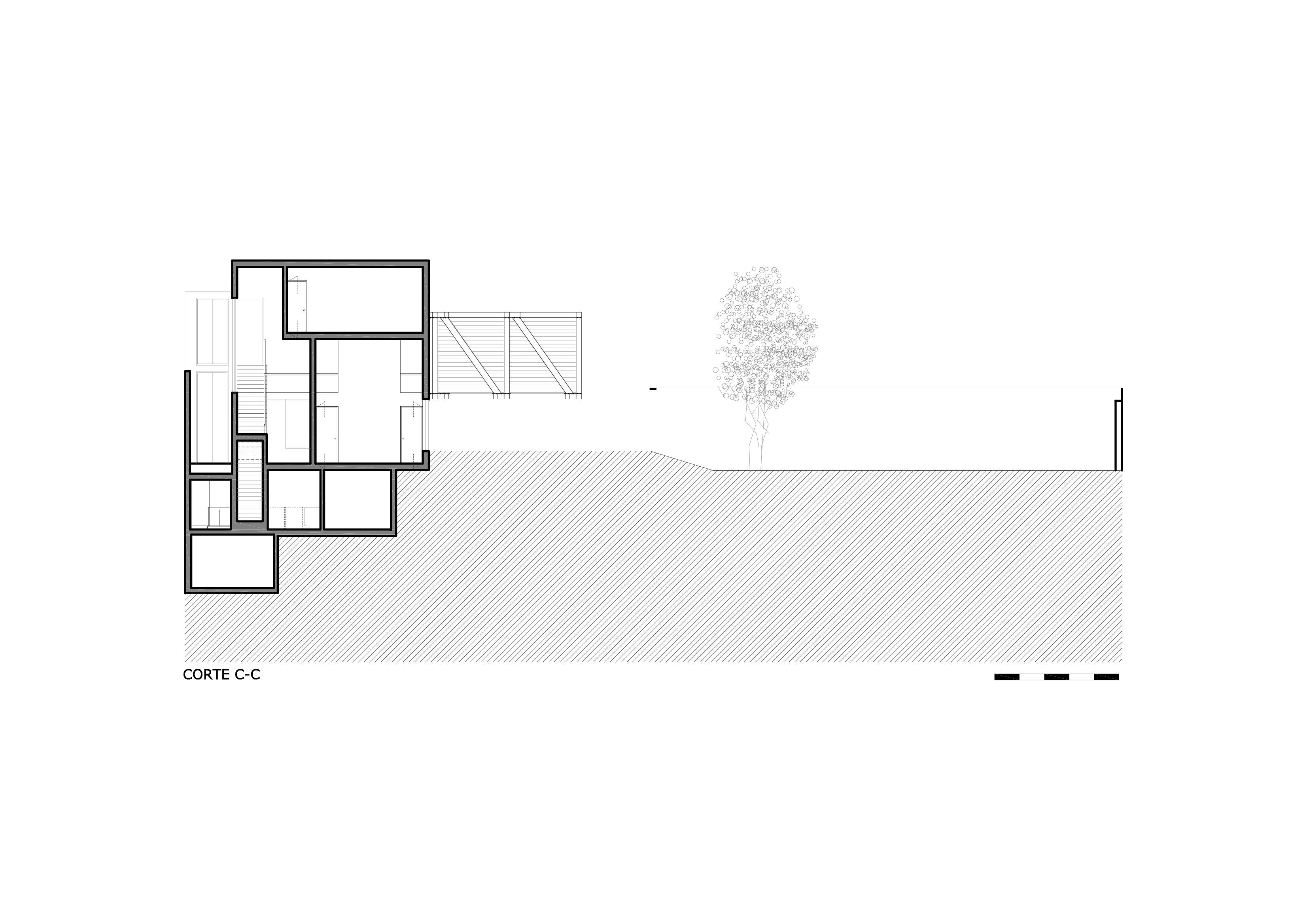 planos, Casa VA, David Mutal Arquitectos