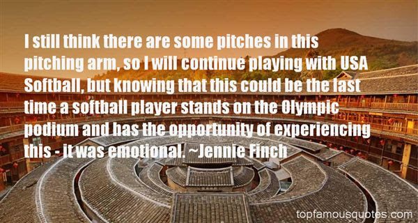 Inspirational Softball Quotes For Pitchers