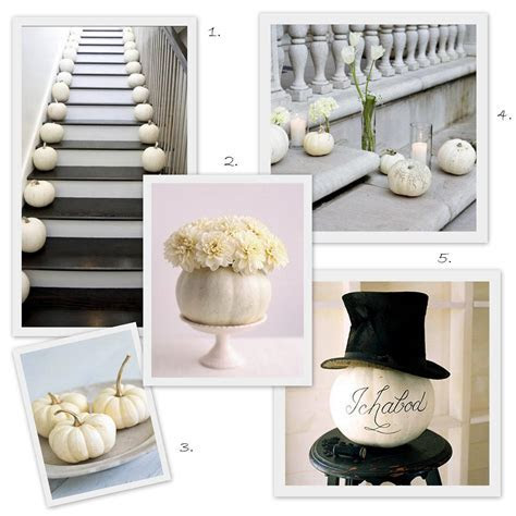 INSPIRATION: White Pumpkin Wedding Decor   Inspiration