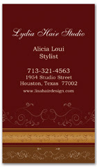 BCS-1024 - salon business card