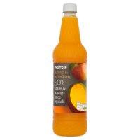 Waitrose 50% apple & mango juice squashimage