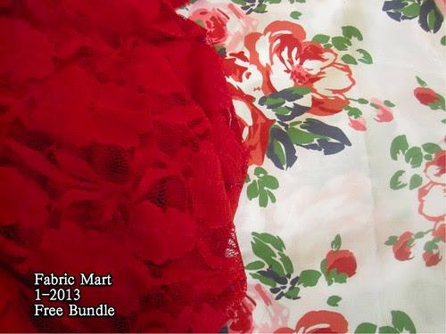 Fabric Mart 1-2012 Free Bundle