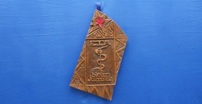 ETA ha difundido una imagen de la talla original que dio origen a su anagrama.