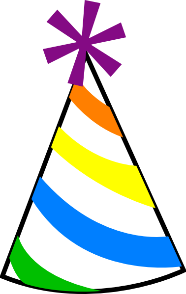 Birthday hat clipart 2 Cliparting com