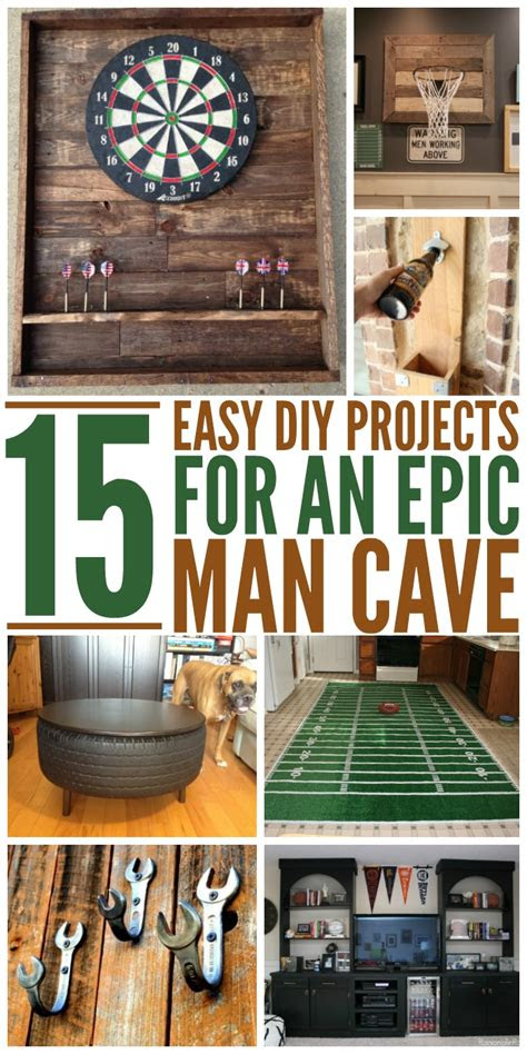 epic man cave diy ideas