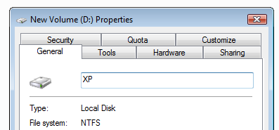 Dualboot Vista with XP – Install XP over Vista