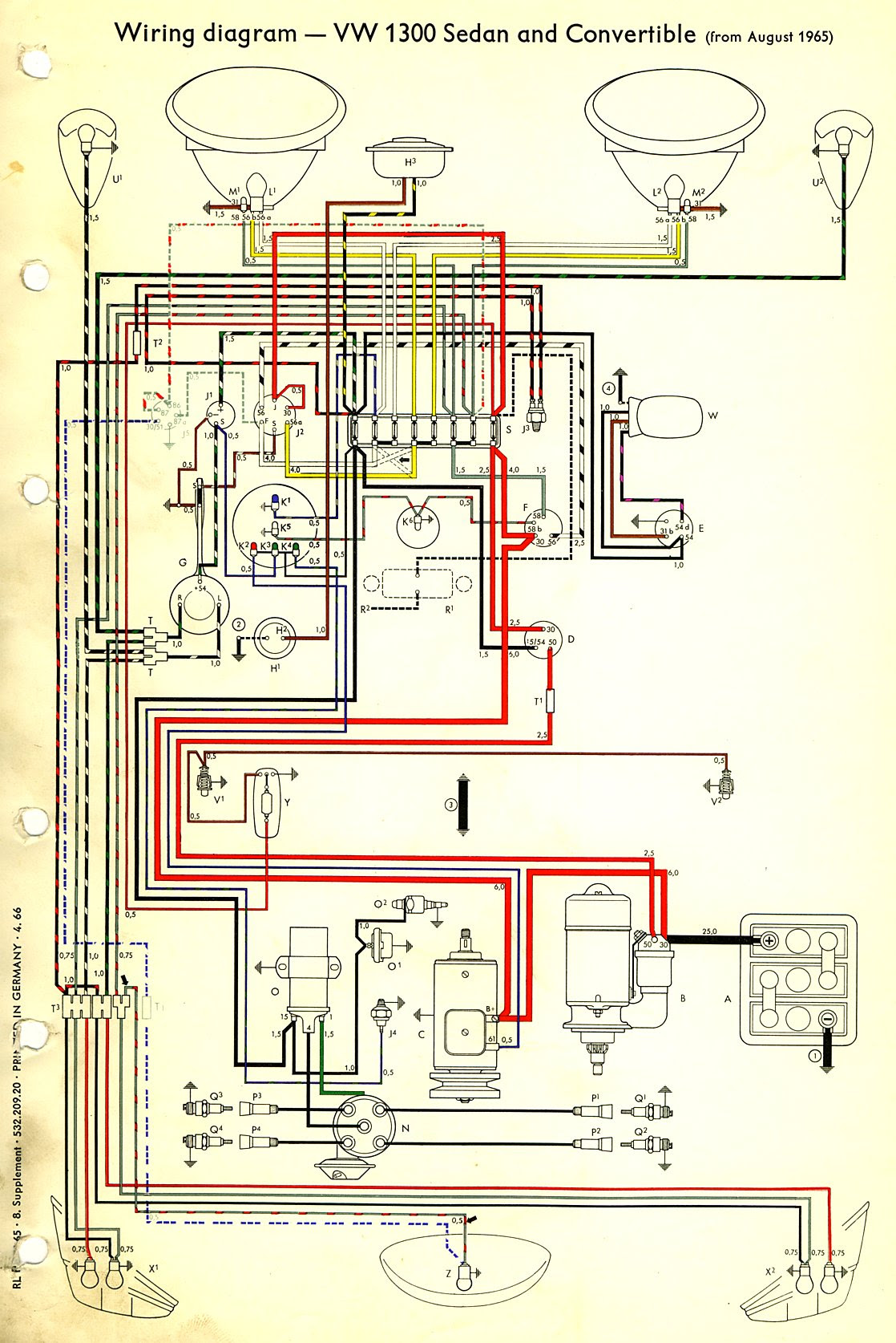 [DIAGRAM] Vw Beetle Wiring Diagram 1971 FULL Version HD ...