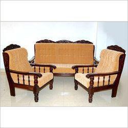 Wooden Sofa Set in Ludhiana, Punjab, India, Lakdi Ka Sofa ...