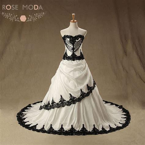 Aliexpress.com : Buy Rose Moda Vintage Black Wedding Dress