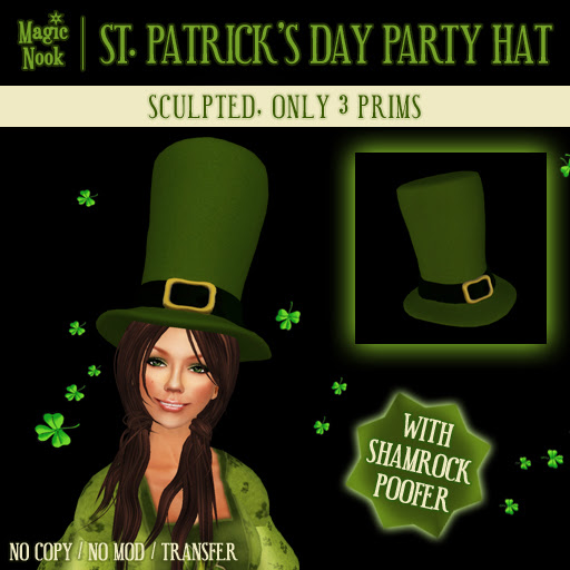 Magic Nook - St. Patrick's Day Party Hat