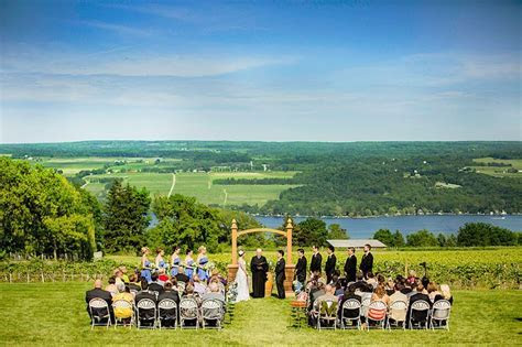 Finger Lakes Wedding at Glenora Wine Cellars by Leo