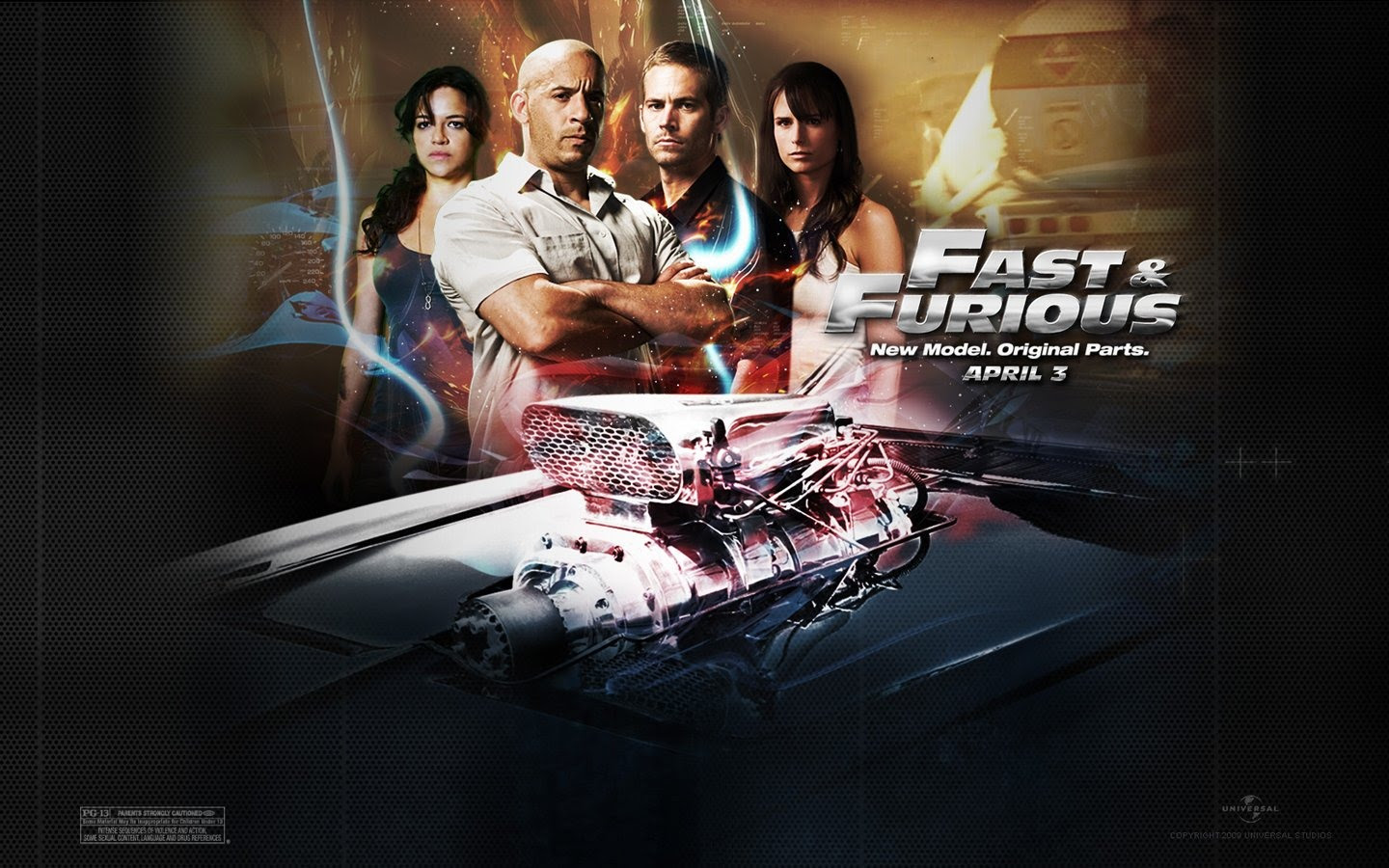 Fast And The Furious 4 Wallpaper 1 1440x900 Wallpaper Download