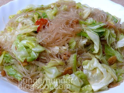 cabbage shrimp
