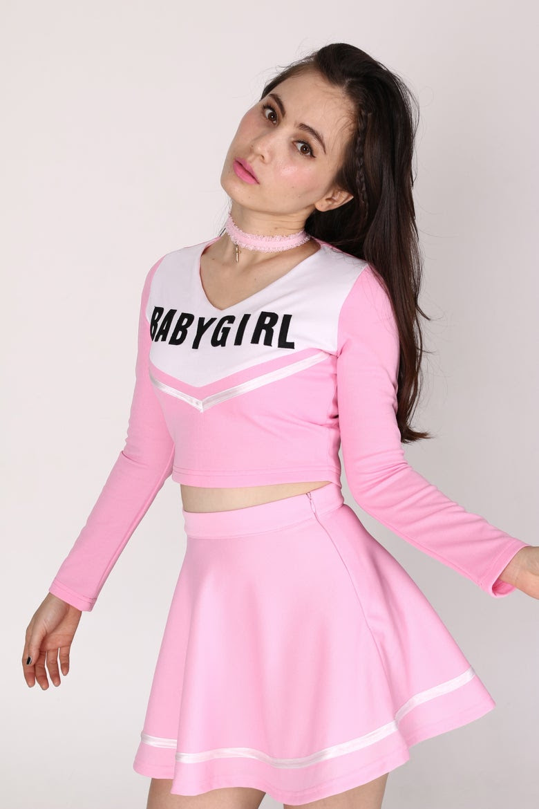 glitters for dinner — cheerleading outfits