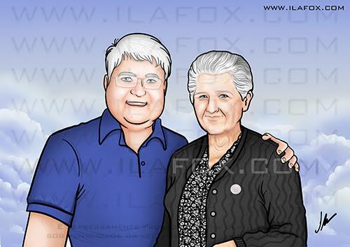 retrato personalizado, retrato, retrato filho e mãe, retrato presente, retrato digital, retrato presente, retrato bonito, by ila fox