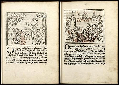 Buch der Kunst dadurch der weltliche Mensch mag geistlich werden - Johann Bämler 1477