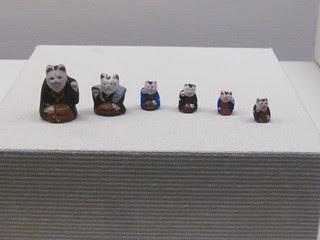 Osaka Museum of History - Sumiyoshi Clay Doll, Hatsutatsu Neko