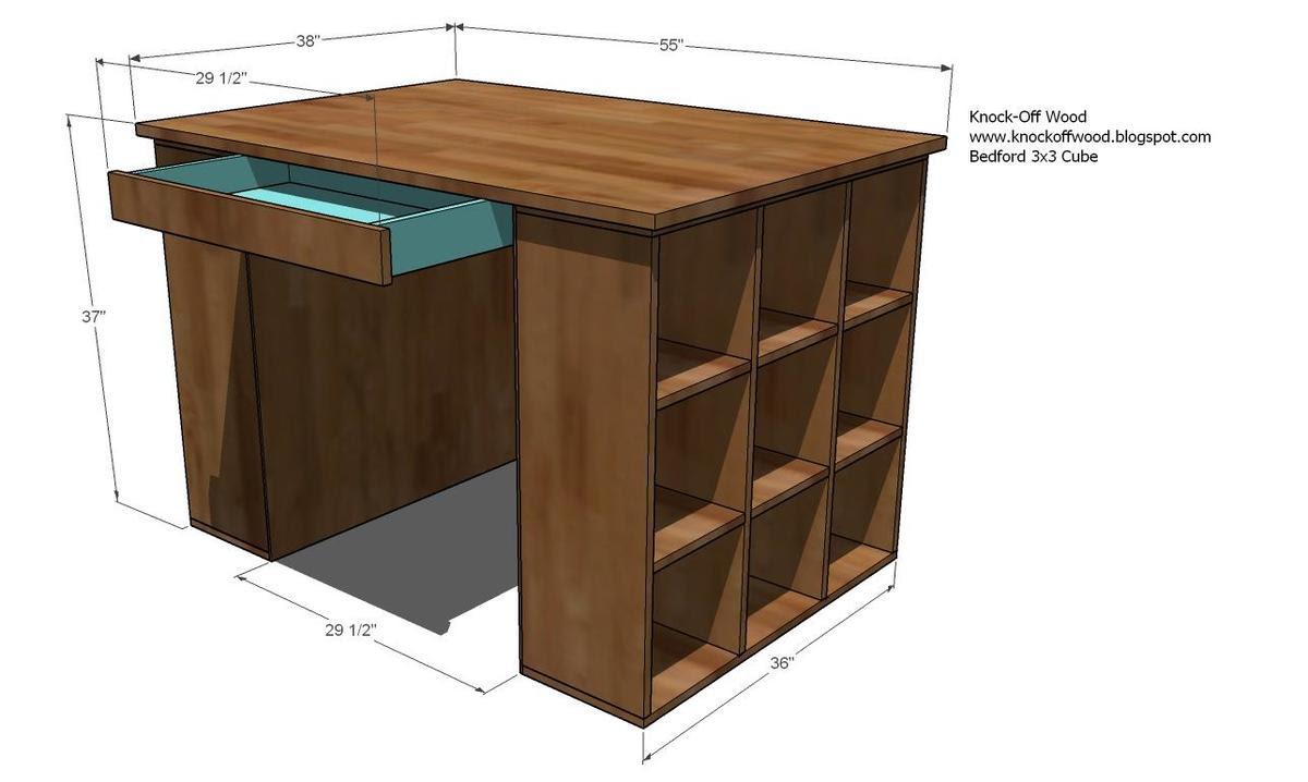 Diy Craft Table Plans.Diy Craft Table Desk Adam Kaela