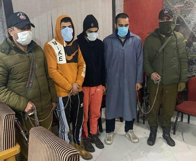 3 Persons Involved in Khanyar Murder Case Arrested: Police