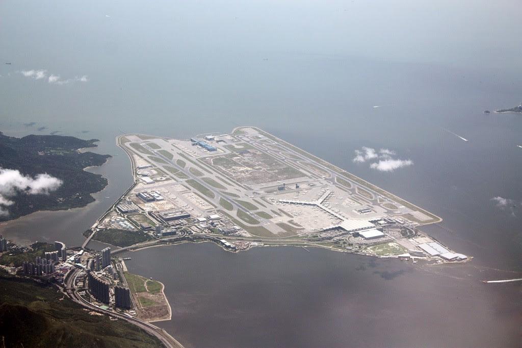 diaforetiko.gr : Hong Kong International Airport 1024x682 Τα 10 πιο εντυπωσιακά τεχνητά νησιά στον κόσμο!