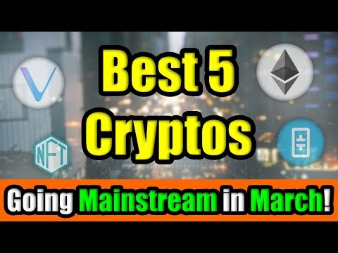 WOW! THE BEST 5 CRYPTOCURRENCY INVESTMENTS GOING MAINSTREAM IN MARCH 2021 | Get Rich with Altcoins🚀 | Blockchained.news Crypto News LIVE Media